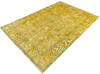 Overdyed Yellow Hand Knotted 64 X 94  Area Rug 700-145005 Thumb 2