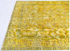 Overdyed Yellow Hand Knotted 64 X 94  Area Rug 700-145005 Thumb 5