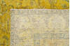 Overdyed Yellow Hand Knotted 64 X 94  Area Rug 700-145005 Thumb 7