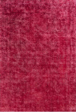"Overdyed Red Hand Knotted 6'3"" X 9'1""  Area Rug 700-145014"
