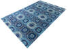 Chobi Blue Hand Knotted 68 X 910  Area Rug 700-145032 Thumb 2