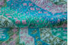 Chobi Green Hand Knotted 82 X 101  Area Rug 700-145033 Thumb 5
