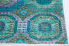 Chobi Green Hand Knotted 40 X 60  Area Rug 700-145034 Thumb 4