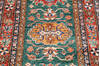 Kazak Green Runner Hand Knotted 27 X 104  Area Rug 700-145055 Thumb 3
