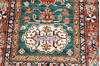 Kazak Green Runner Hand Knotted 27 X 104  Area Rug 700-145055 Thumb 4