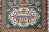 Kazak Green Runner Hand Knotted 27 X 104  Area Rug 700-145055 Thumb 6