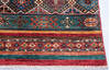 Chobi Red Runner Hand Knotted 28 X 910  Area Rug 700-145068 Thumb 4