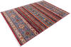 Chobi Red Hand Knotted 51 X 71  Area Rug 700-145072 Thumb 2