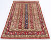 Chobi Red Hand Knotted 38 X 58  Area Rug 700-145084 Thumb 1