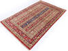 Chobi Red Hand Knotted 38 X 58  Area Rug 700-145084 Thumb 2