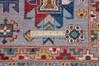 Chobi Blue Hand Knotted 58 X 80  Area Rug 700-145095 Thumb 7