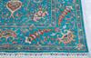 Chobi Blue Hand Knotted 52 X 70  Area Rug 700-145104 Thumb 4
