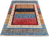Chobi Multicolor Hand Knotted 56 X 82  Area Rug 700-145107 Thumb 1