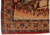 Isfahan Red Hand Knotted 34 X 52  Area Rug 254-145125 Thumb 8