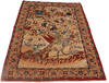Isfahan Red Hand Knotted 34 X 52  Area Rug 254-145125 Thumb 9