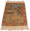 Tabriz Beige Hand Knotted 20 X 30  Area Rug 254-145127 Thumb 6