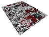 Modern-Contemporary Red Hand Knotted 710 X 910  Area Rug 904-145134 Thumb 1