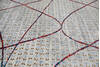 Modern-Contemporary Multicolor Hand Knotted 81 X 103  Area Rug 904-145139 Thumb 5