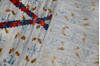 Modern-Contemporary Multicolor Hand Knotted 81 X 103  Area Rug 904-145139 Thumb 6