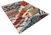Modern-Contemporary Multicolor Hand Knotted 80 X 100  Area Rug 904-145140 Thumb 1