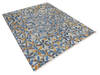 Modern-Contemporary Multicolor Hand Knotted 79 X 99  Area Rug 904-145146 Thumb 1