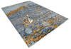 Modern-Contemporary Multicolor Hand Knotted 810 X 123  Area Rug 904-145149 Thumb 1