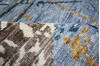 Modern-Contemporary Multicolor Hand Knotted 810 X 123  Area Rug 904-145149 Thumb 8