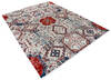 Modern-Contemporary Multicolor Hand Knotted 91 X 120  Area Rug 904-145150 Thumb 1