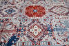 Modern-Contemporary Multicolor Hand Knotted 91 X 120  Area Rug 904-145150 Thumb 5