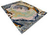 Modern-Contemporary Multicolor Hand Knotted 810 X 119  Area Rug 904-145167 Thumb 1