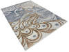 Modern-Contemporary Multicolor Hand Knotted 80 X 106  Area Rug 904-145169 Thumb 1