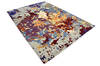 Modern-Contemporary Multicolor Hand Knotted 811 X 123  Area Rug 904-145183 Thumb 1