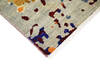 Modern-Contemporary Multicolor Hand Knotted 811 X 123  Area Rug 904-145183 Thumb 2