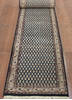 Persian Blue Runner Hand Knotted 26 X 120  Area Rug 902-145188 Thumb 1