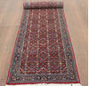Kashan Red Runner Hand Knotted 26 X 110  Area Rug 902-145198 Thumb 1