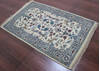 Kashan Beige Hand Knotted 30 X 50  Area Rug 902-145201 Thumb 2
