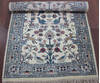 Kashan Beige Hand Knotted 30 X 50  Area Rug 902-145201 Thumb 3