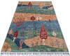Chobi Multicolor Hand Knotted 42 X 64  Area Rug 700-145282 Thumb 1