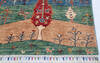 Chobi Multicolor Hand Knotted 42 X 64  Area Rug 700-145282 Thumb 4