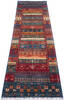 Chobi Multicolor Runner Hand Knotted 28 X 910  Area Rug 700-145286 Thumb 1