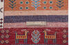 Chobi Multicolor Runner Hand Knotted 211 X 96  Area Rug 700-145287 Thumb 6