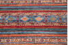 Chobi Multicolor Runner Hand Knotted 29 X 82  Area Rug 700-145288 Thumb 2