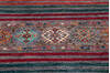 Chobi Multicolor Runner Hand Knotted 29 X 100  Area Rug 700-145291 Thumb 2