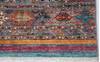 Chobi Multicolor Runner Hand Knotted 29 X 100  Area Rug 700-145291 Thumb 3