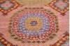 Chobi Multicolor Hand Knotted 50 X 70  Area Rug 700-145323 Thumb 3