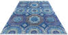 Chobi Blue Hand Knotted 80 X 100  Area Rug 700-145327 Thumb 1