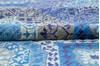Chobi Blue Hand Knotted 80 X 100  Area Rug 700-145327 Thumb 6