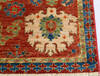 Chobi Red Hand Knotted 311 X 60  Area Rug 700-145340 Thumb 4