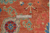 Chobi Red Hand Knotted 311 X 60  Area Rug 700-145340 Thumb 6