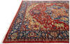 Chobi Red Hand Knotted 92 X 119  Area Rug 700-145348 Thumb 5